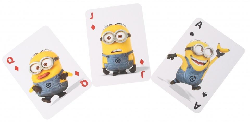 Sambro Minions jumbo speelkaarten 14 x 9 cm