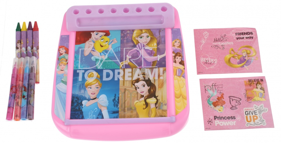 Sambro Princess Roll & Go tekenbord 18 cm 12 delig