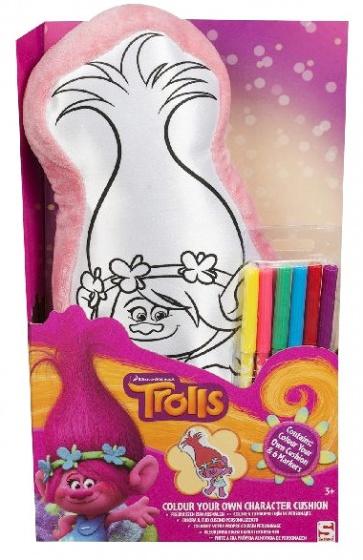 Sambro Trolls kleur jouw eigen kussen 7 delig