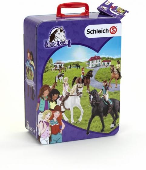 Schleich Horse Club verzamelkist 10 delig