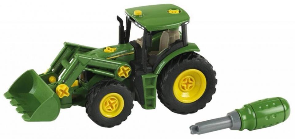 Traktor John Deer mit Front-
