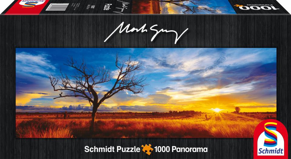 Schmidt puzzel Desert Oak at Sunset