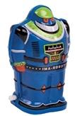 Schylling Robot Blauw 11 cm