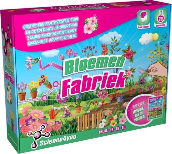 Science 4 You bloemenfabriek experimenteerset