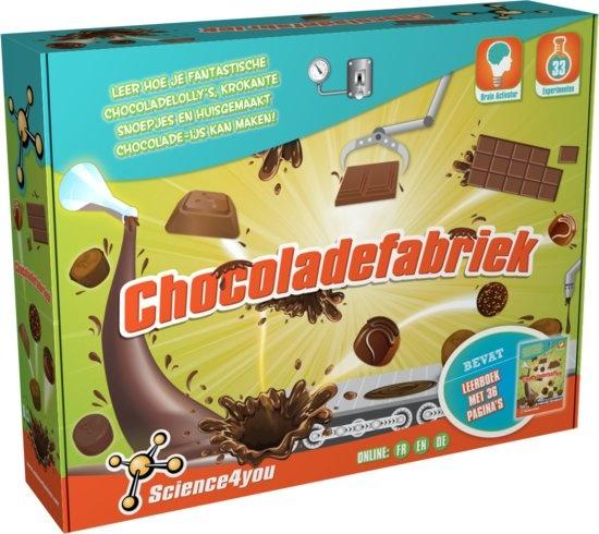Science 4 You chocoladefabriek experimenteerset