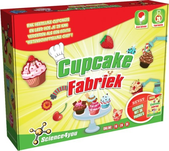Science 4 You cupcakefabriek experimentenset