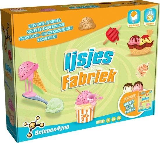 Science 4 You ijsjesfabriek experimenteerset
