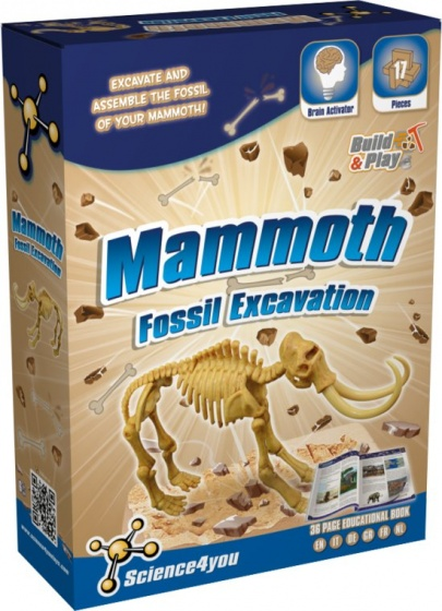 Science 4 You Mammoet palaeontologie experimenteerset
