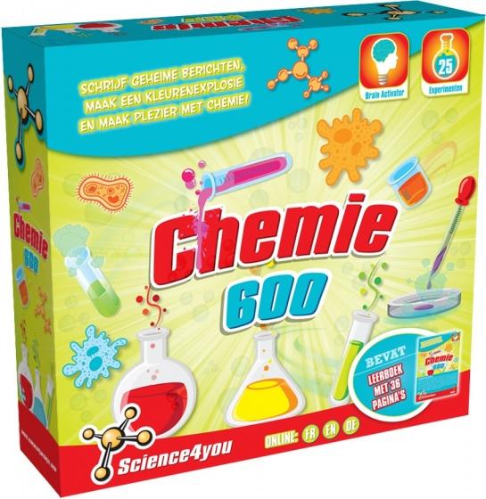Science 4 You scheikunde 600 experimenteerset