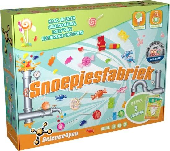 Science 4 You snoepjesfabriek experimenteerset