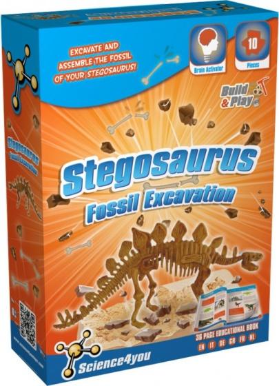 Science 4 You Stegosaurus palaeontologie experimenteerset