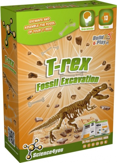 Science 4 You T rex palaeontologie experimenteerset
