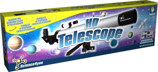 Science 4 You telescoop HD metaal 22 x 74 cm