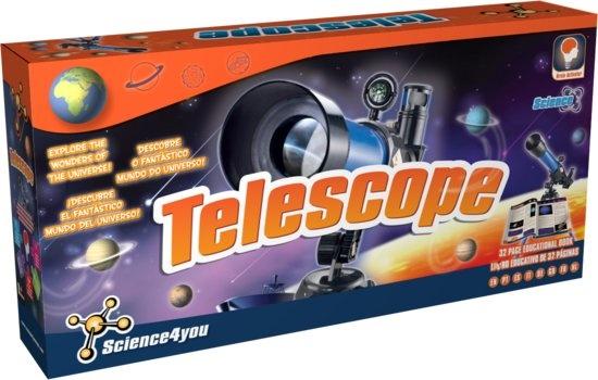 Science 4 You telescoop metaal 22 x 43 cm
