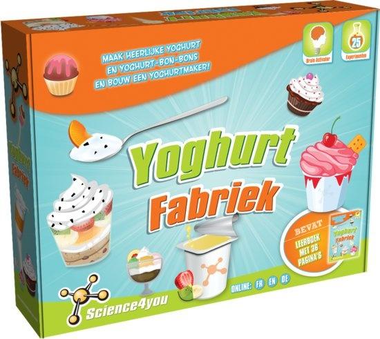 Science 4 You yoghurtfabriek experimenteerset