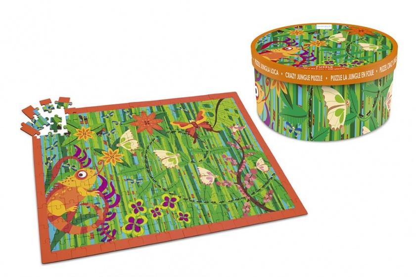 Scratch crazy jungle puzzel 200 stukjes 60 cm
