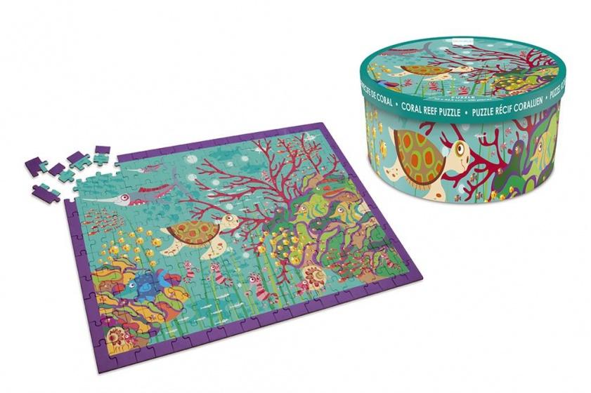 Scratch koraalrif puzzel 200 stukjes 60 cm