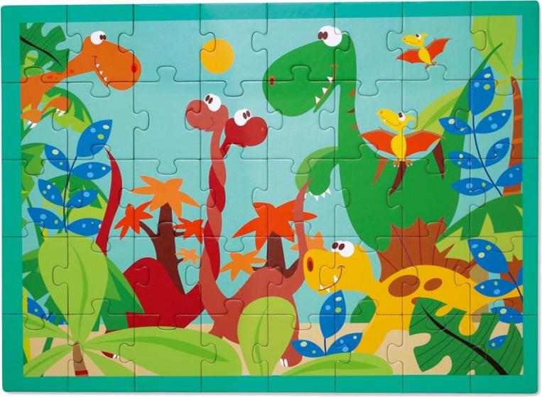 Scratch legpuzzel Dinowereld 40 stukjes