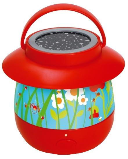 Scratch nachtlamp Tuin junior rood 14 x 12,7 cm