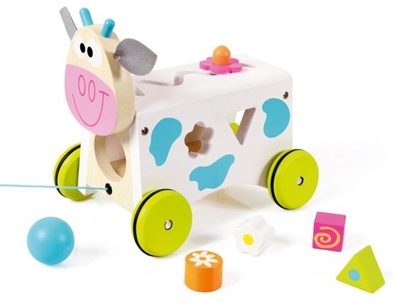Scratch Preschool: Activity Wagon Koe Marie