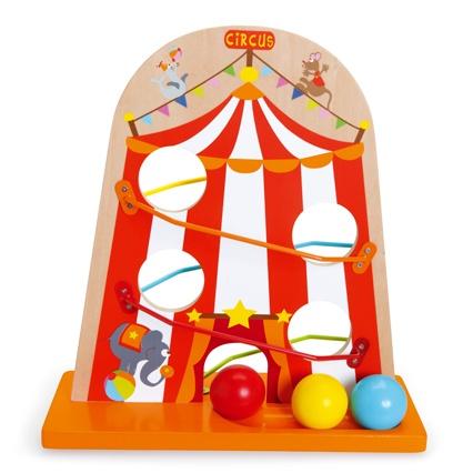 Scratch Preschool: ballenbaan circus