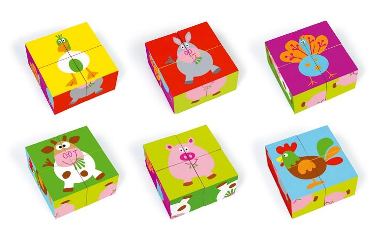 Scratch Preschool: Blokkenpuzzel Boerderij