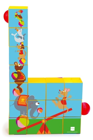 Scratch Preschool: Puzzel en Roller Coaster Circus