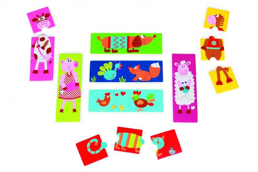 Scratch Preschool: Puzzel Gekke Dieren