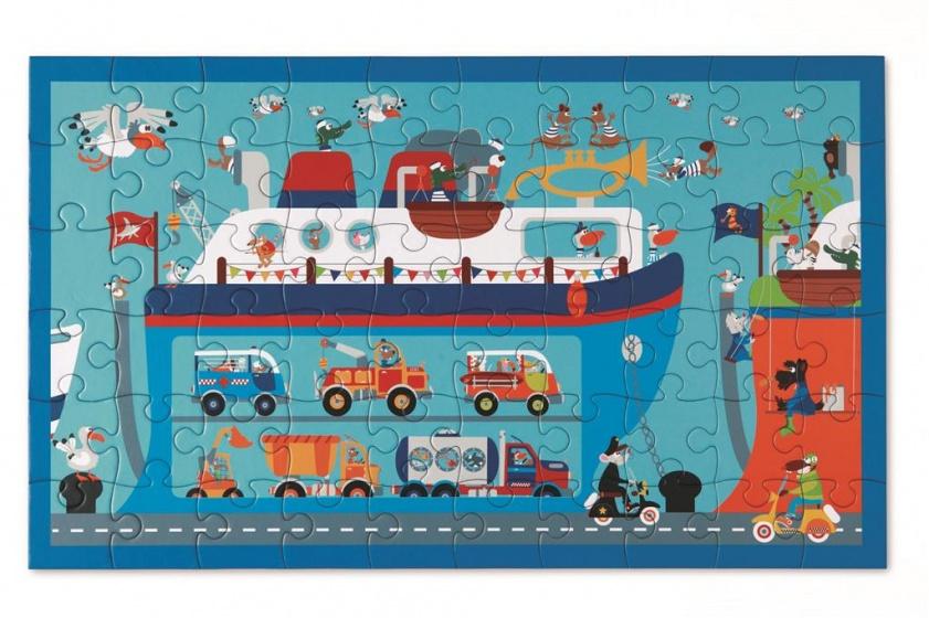 Scratch Puzzel veerboot 60 stukjes