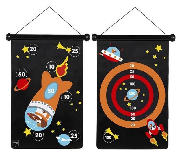 Scratch Spel: Darts Astronaut Magnetisch