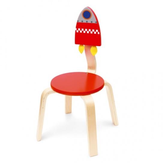 Scratch stoel ruimte hout 33 x 33 x 65 cm