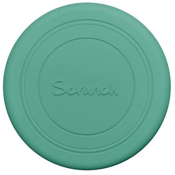 Scrunch frisbee Flyer 18 x 0,5 cm siliconen mintgroen
