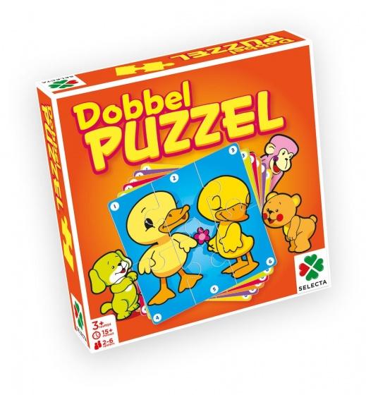 Selecta Dobbel Puzzel junior