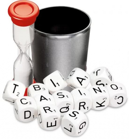 dice game Word mix