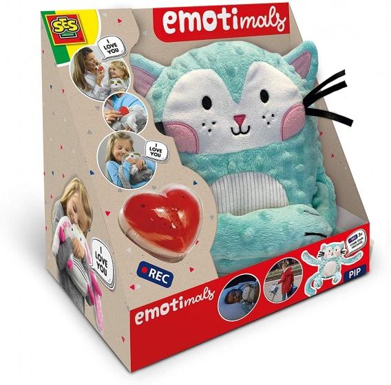 SES Creative knuffel Pip Emotimals 30 x 20 cm Kat