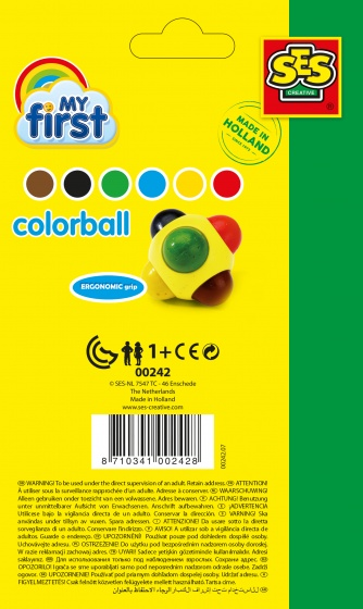 my first color ball 6 cm