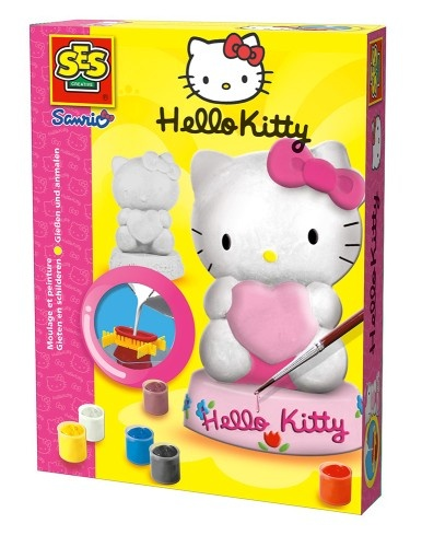 SES Gips Figuren Gieten Hello Kitty
