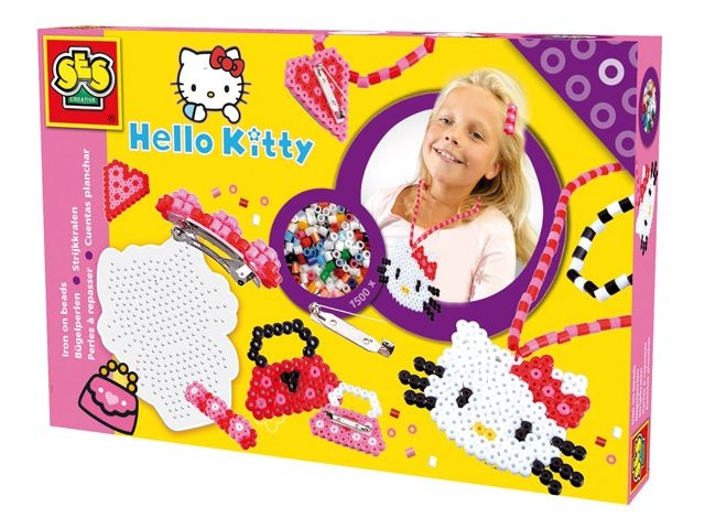 SES Hello Kitty Strijkkralen 14756