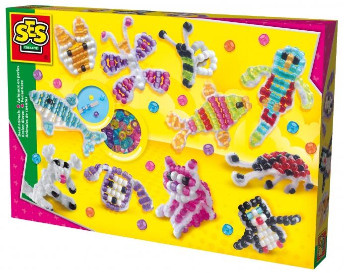 SES Kralen rijgen: dieren