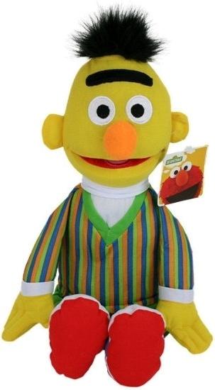 Sesamstraat knuffel Bert pluche 80 cm