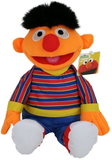 Sesamstraat knuffel Ernie pluche 80 cm