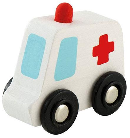 Sevi ambulance mini wit 7 cm