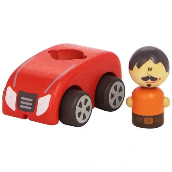 Sevi Auto Rood 9 cm