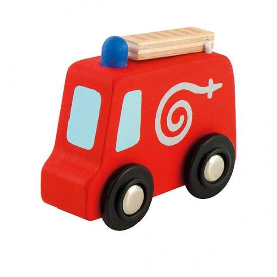 Sevi Brandweerwagen Mini Rood 7 cm
