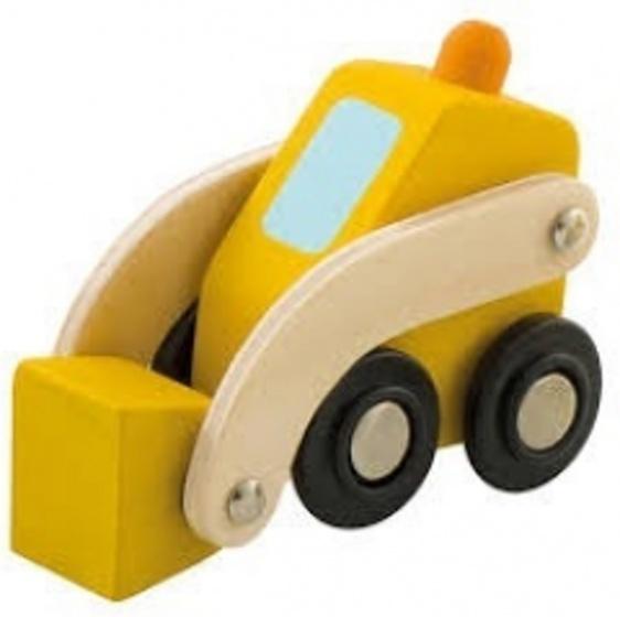 Sevi Bulldozer Mini Geel 7 cm