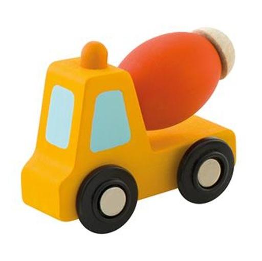 Sevi Cementwagen Mini Oranje 7 cm
