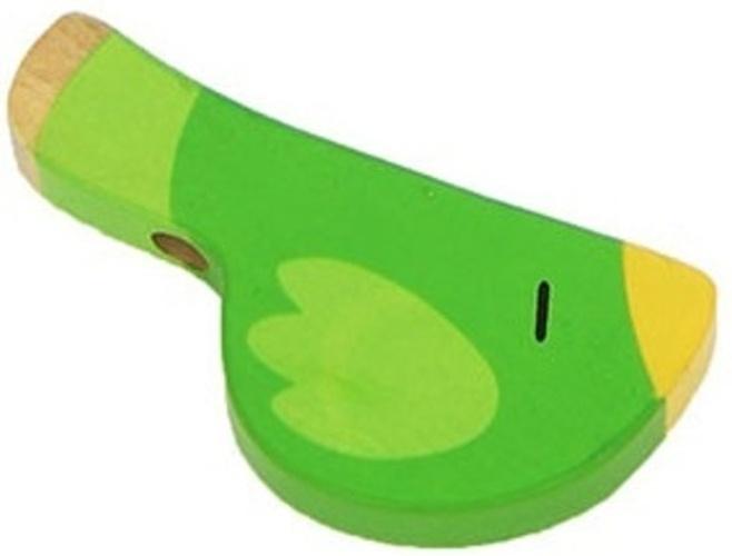 Sevi Fluit Vogel Groen 9,5 cm