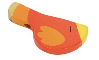 Sevi Fluit Vogel Rood 9,5 cm