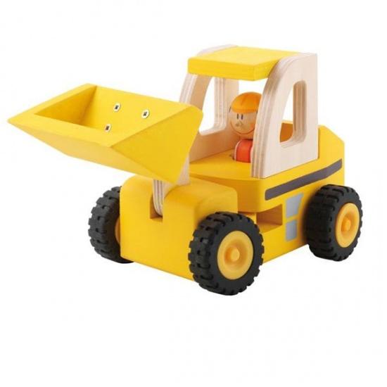 Sevi Bulldozer Geel 17,5 cm