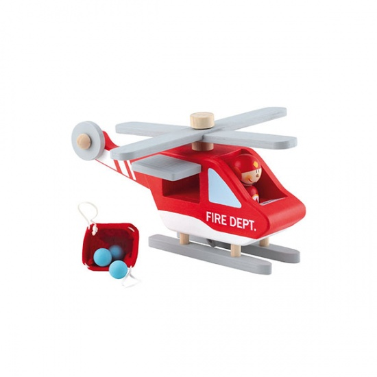 Sevi Helikopter Brandweer Rood 24 cm